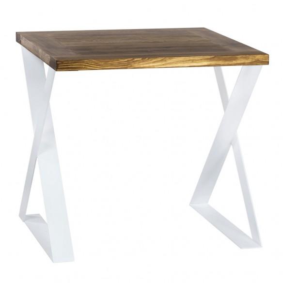 Stół loftowy kwadrat drewno