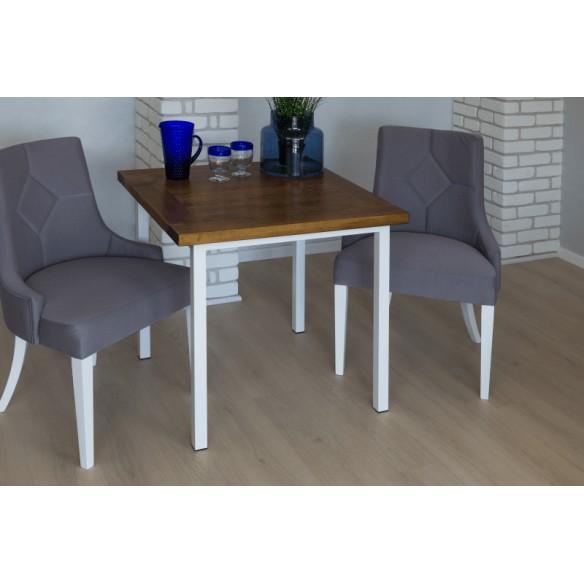 Stół w stylu industrialnym 80 drewniany