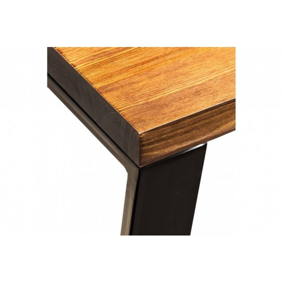 Stół industrial loft metal drewno