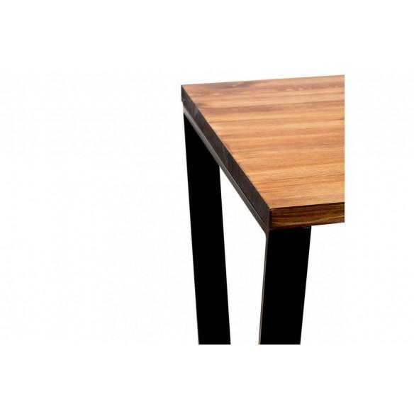 Nowoczesny stół loftowy metal drewno