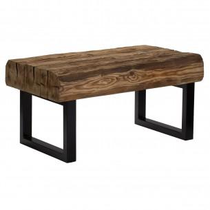 Stół kawowy loft stare drewno
