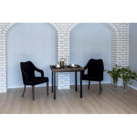 Stół loftowy glamour 80 do kawiarni