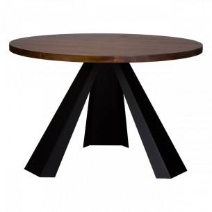 Okrągły stół loftowy