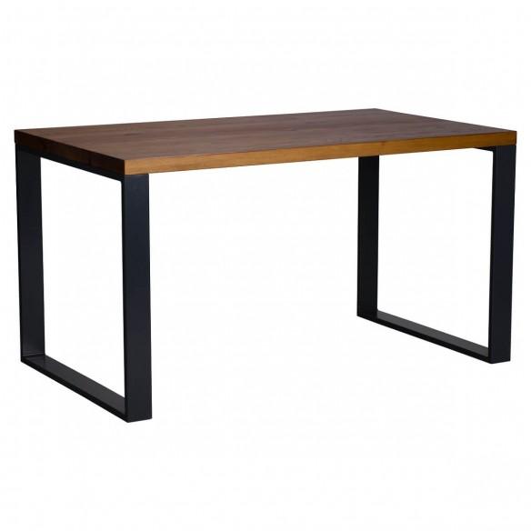 Stół loft z blatem z drewna