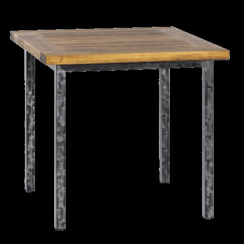 Stół industrialny drewniany 80 szczotkowany