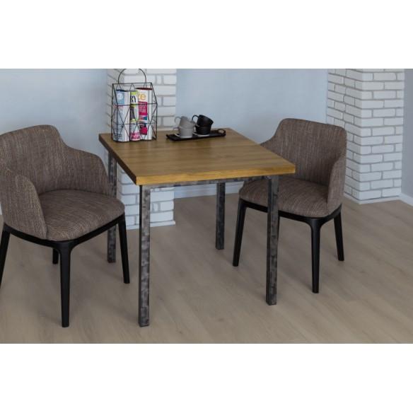 Stół styl industrialny drewniany 80
