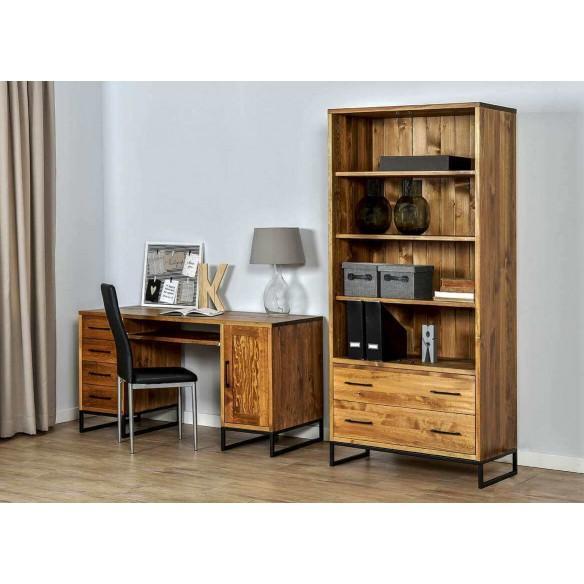 biurko w stylu loft