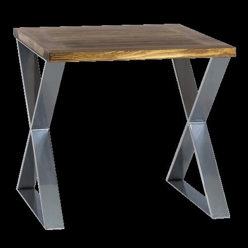 Nowoczesny stół industrialny chrom