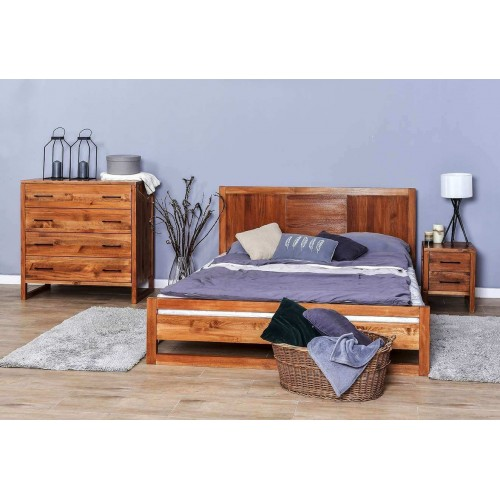 Łóżko w stylu skandynawskim