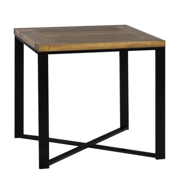Stół loft design 80 czarny