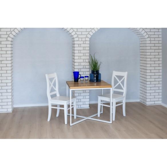 Stół w stylu industrialnym loftowym