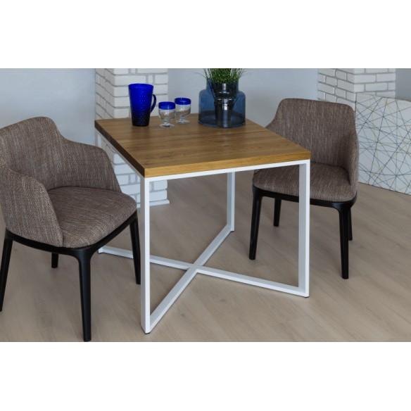 Loftowy stół industrialny