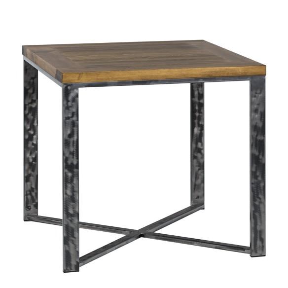 Industrialny stół metal drewno 80