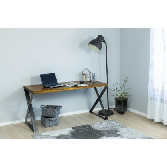 Loftowe biurko metalowe