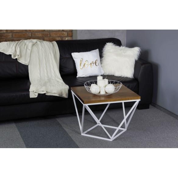 Industrialny loftowy stolik kawowy