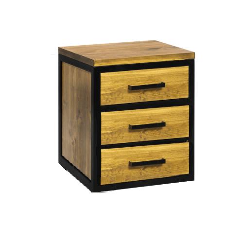 Loftowa szafka pod biurko