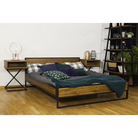 Sypialnia w industrialnym stylu