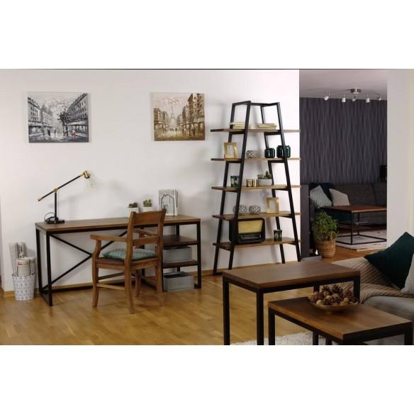 Designerskie biurko w stylu loftowym