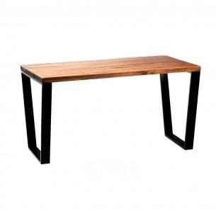 Dwumetrowy stół drewniany