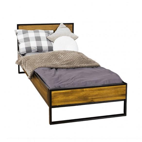 Pojedyncze łóżko loftowe 80