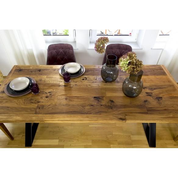stół z dębu ze starych domów
