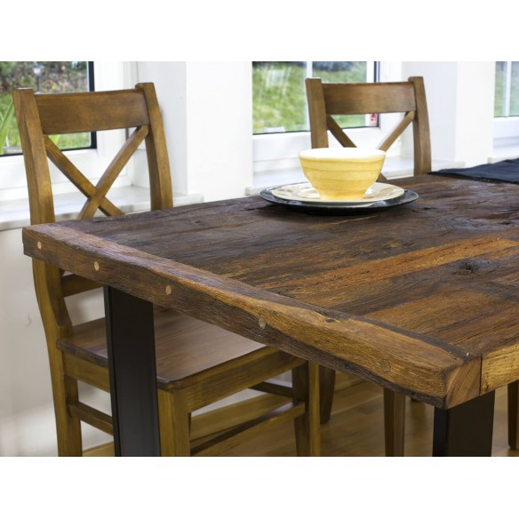 Stół z 2 metrowym blatem dębowym