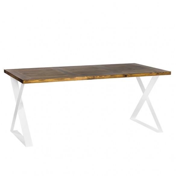 stół industrialny szczotkowany