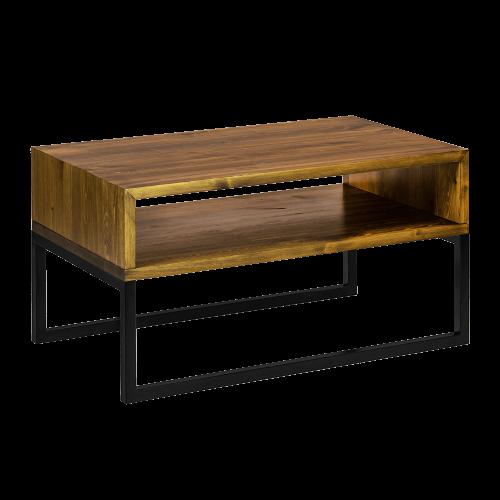 Stolik kawowy nowoczesny drewniany czarny